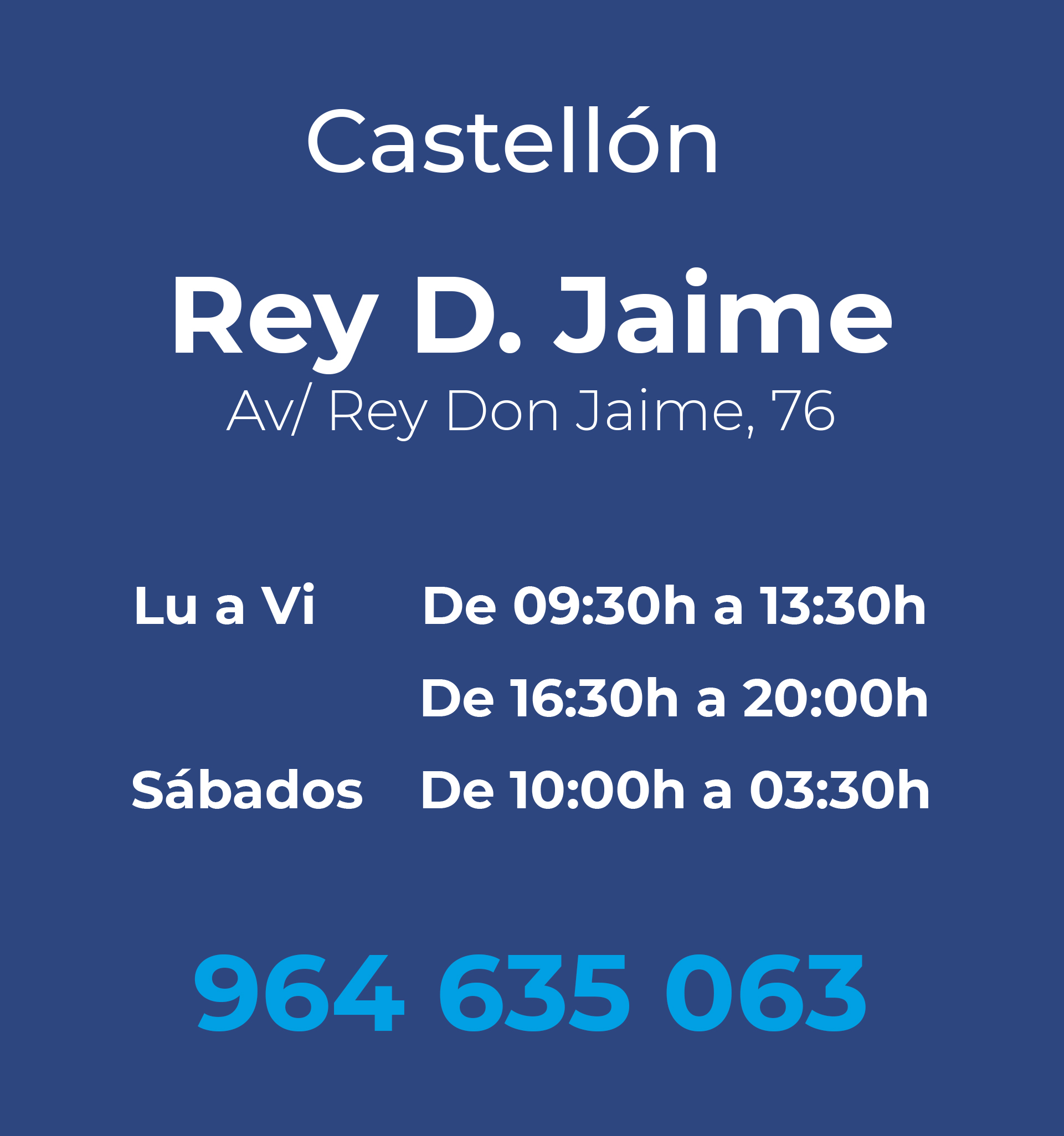 Castellon Don Jaime